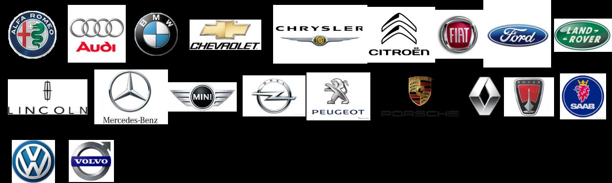 輸入車メーカーロゴ