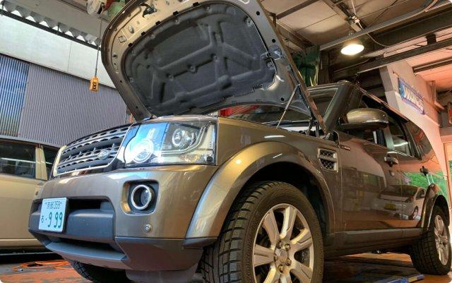ランドローバー ディスカバリーのブレーキオイル交換・ブレーキパットの交換について