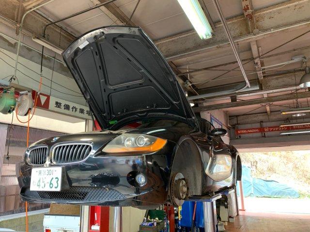 BMW Z4の車検整備