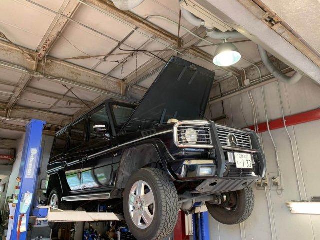 メルセデスベンツ G500L Gクラス ゲレンデの車検整備について