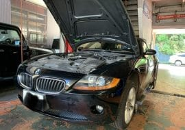 BMW Z4 エンジン不調の修理