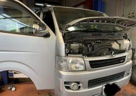 トヨタ TRH200V ハイエースの車検整備
