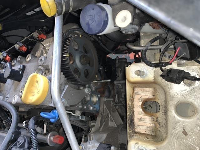 フィアット C500の車検整備