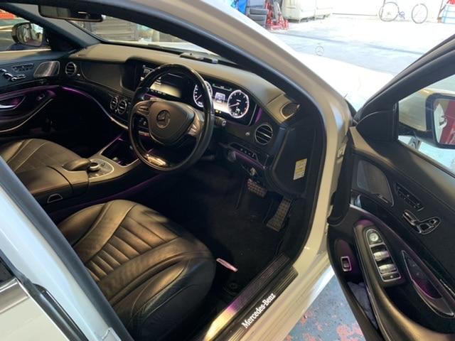 ベンツ S550の車検整備