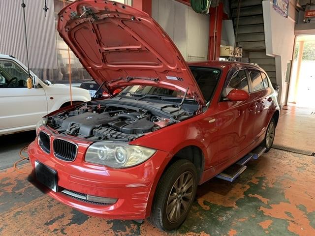 BMW  116iの車検整備